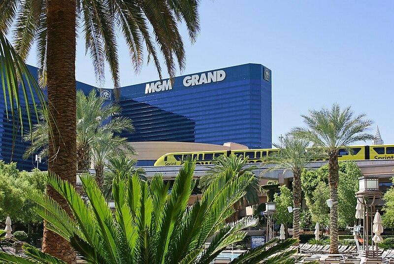 File:Monorail MGM Grand.jpg