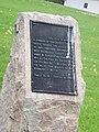 Monroeville, Jefferson County, Ohio historical marker.JPG