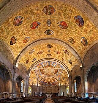 Church of Saint-Léon-de-Westmount - Image: Montreal St Leon 2 tango 7174