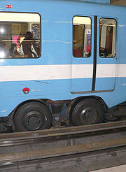 Rubber tires of the Montreal Metro