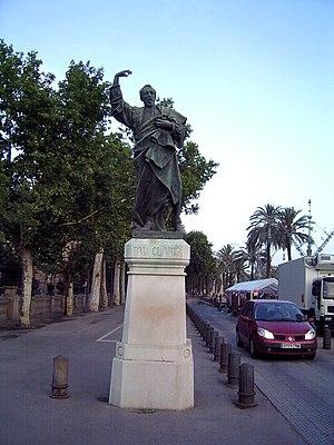Pau Claris i Casademunt - Monument to Pau Claris by Rafael Atché i Ferré, on the Passeig de Lluís Companys, Barcelona