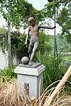 Monument statue of Okuyamada Elementary school's site in Okuyamada, Ujitawara, Kyoto August 11, 2018 01.jpg