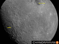 Moon image taken at a height of about 2650 km from Lunar surface by Chandrayaan 2 - Vikram Lander.png