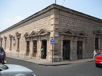 José María Morelos - Birthplace and house of Morelos in Morelia, today a museum.