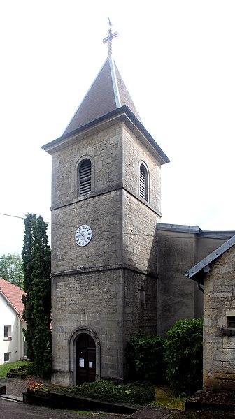 Église de Morre (Doubs).