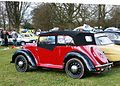 Morris 8 cabriolet registered December 1939 rear three quarters.JPG