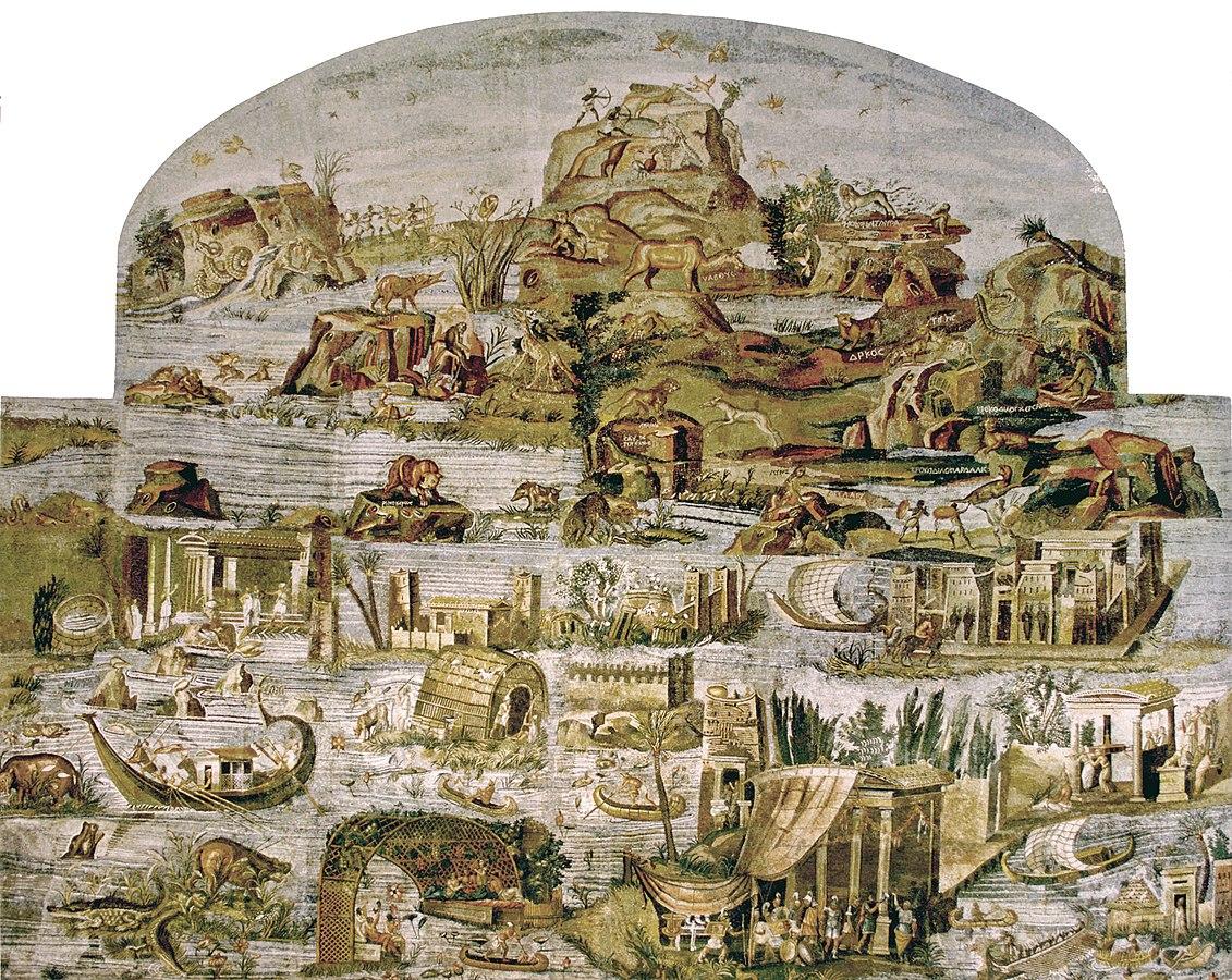 mosaïque du Nil