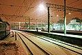 Moscow, Kazansky Rail terminal tracks at night (25024999885).jpg