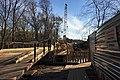 Moscow, bridges of Yaroslavskoe railway line over the Yauza River (30322132453).jpg