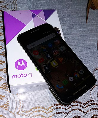 Moto G (3rd generation) - Moto G XT1543 (Latin American model) with Android 6.0.1 Marshmallow