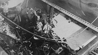 Disaster of the LPG tanker Elisabetta Montanari