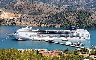 <i>MSC Lirica</i> Cruise ship