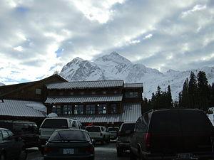 Mt. Baker Ski Area - White Salmon Lodge and Mt. Shuksan