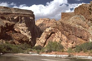 San Rafael Swell - Entrance to the Muddy Creek Gorge