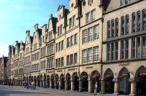 Münster - Prinzipalmarkt, 2005.