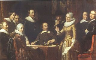 Muiderkring literary group in The Netherlands