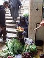 Mujer en un mercado de Marruecos.JPG