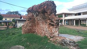 Mullaitivu fort - Remains of Mullaitivu Fort