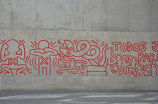 Mural de Keith Haring (1)