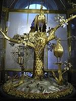 Musée de l'Ermitage - intérieur - pavillon du petit Ermitage - horloge du paon.jpg