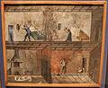 Museo bernareggi, collezione di ex-voto, incendio e crollo di un muro.JPG