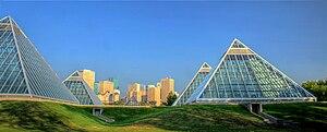 Muttart Conservatory - Image: Muttart Conservatories Edmonton Alberta Canada 20A