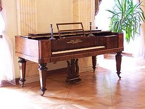 Square piano - A square piano