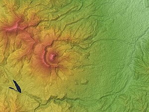 Mount Myōkō - Relief Map