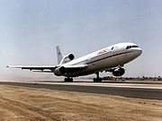 Lockheed's most advanced airliner, the L-1011 Tristar