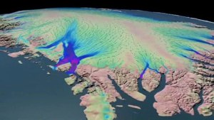 File:NASA scientist Eric Rignot provides a narrated tour of Greenland's moving ice sheet.ogv