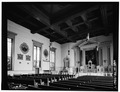 NAVE, VIEW LOOKING EAST - Church of the Nativity, 46-48 Second Avenue, New York, New York County, NY HABS NY,31-NEYO,93-4.tif
