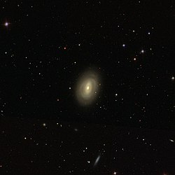 NGC 3626 by the Sloan Digital Sky Survey
