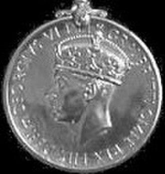 Naval General Service Medal (1915) - Image: NGSM 1915 GVI obv