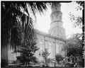NORTH SIDE - St. Philip's Protestant Episcopal Church, 146 Church Street, Charleston, Charleston County, SC HABS SC,10-CHAR,58-9.tif