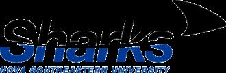 Nova Southeastern Sharks - Image: NSU Sharks wordmark