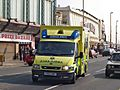 NWAS ambulance in Blackpool, UK - 20090417.jpg