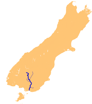Mataura River - The Mataura River system