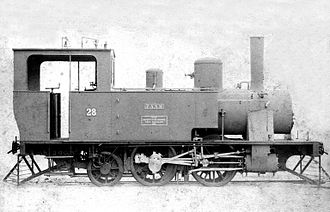 1891 in South Africa - NZASM 19 Tonner 0-4-2T