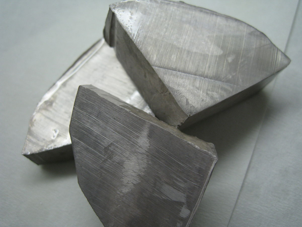 Lithium Appearance At Room Temperature