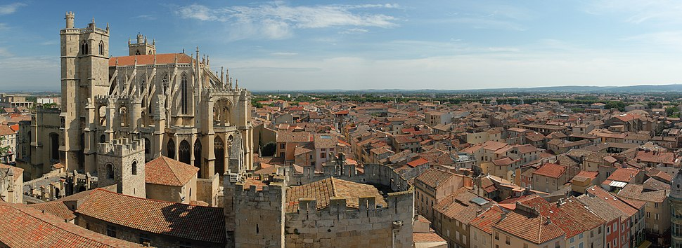 Narbonne panorama
