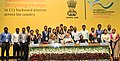 Narendra Modi in a group photograph with the youth who have been working in rural areas under Prime Minister's Rural Development Fellows (PMRDF) scheme, in New Delhi. The Union Minister for Rural Development (1).jpg