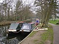Narrow Boats at the Basingstoke Canal Visitors Centre at Mytchett, Frimley - geograph.org.uk - 91357.jpg