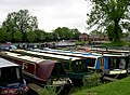Narrowboats, Crick Wharf Marina, Northamptonshire - geograph.org.uk - 820554.jpg