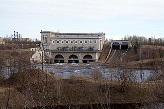 Ivangorod - Narva Hydroelectric Station