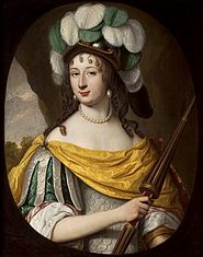 Portrait of a Woman as Minerva (Christina of Sweden as Bradamante).
