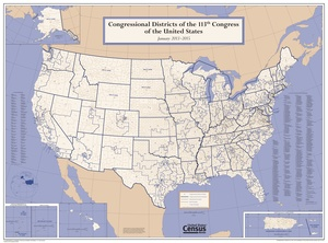 List Of United States Congressional Districts Wikipedia - Us congress election map