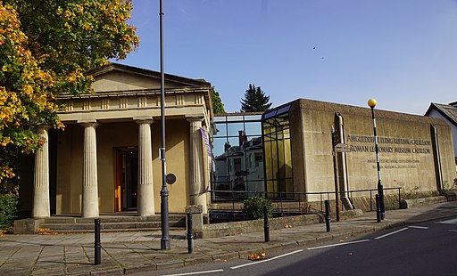 """National Roman Legion Museum"" and ""Caerleon Roman Fortress and Baths"""