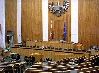 National Council (Austria) - Image: Nationalrat
