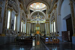 Chalma, Malinalco - Nave of the sanctuary church