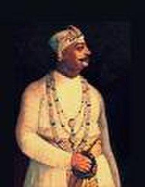 Najmuddin Ali Khan - Nawab Najim-ud-Daulah of Bengal.